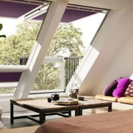 фотография Мансардныхе окна Velux