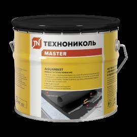 Мастика битумная холодная для ремонта кровель и гидроизоляции aquamast
