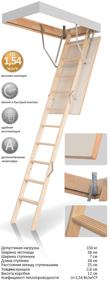 фотография Новинка от FAKRO: чердачные лестницы LiteStep